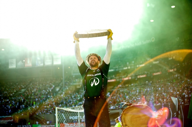 PORTLAND, OR - AUGUST 5: at JELD-WEN Field on August 5, 2012.  (Craig Mitchelldyer/Portland Timbers)