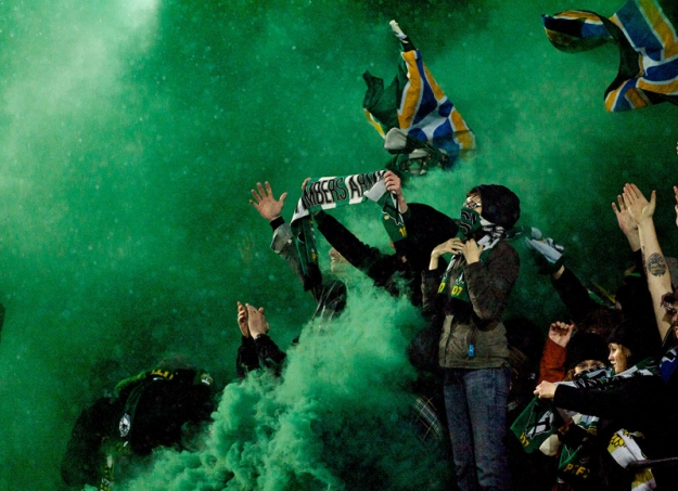 PORTLAND, OR - MAR 12: at JELD-WEN Field on March 12, 2012.  (Craig Mitchelldyer/Portland Timbers)