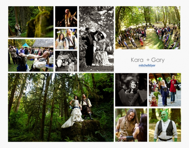 Fantasy Fairytale Wedding