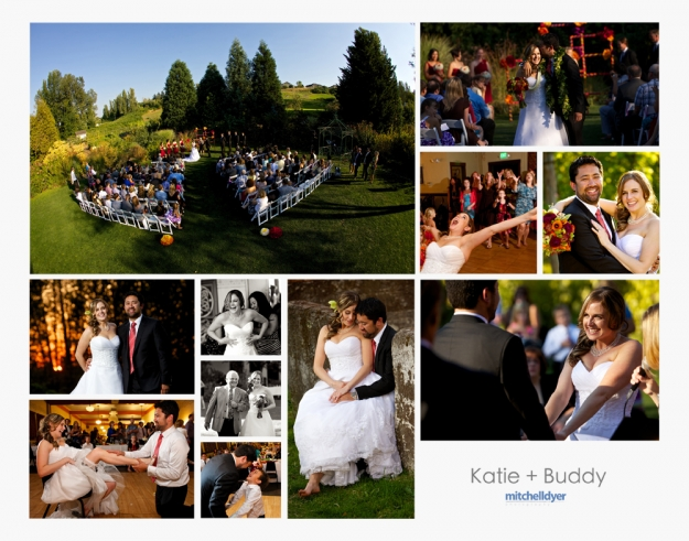 Mcmenamins Edgefield Wedding Photo